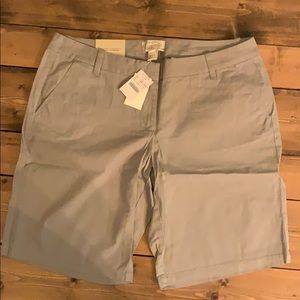 Jcrew Bermuda Shorts, NWT.
